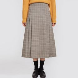 match check long skirt (s m)