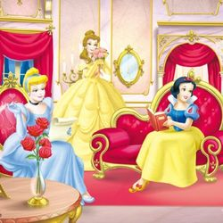 [판퍼즐]궁전안의 디즈니 공주들 (D 60N-10)
