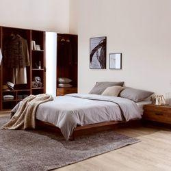 아뜰리에 멀바우 퀸사이즈 침대 B