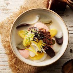 우리쌀로 만들어 쫄깃한 오색떡국떡 선물세트 1호