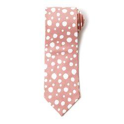 버블 핑크 넥타이