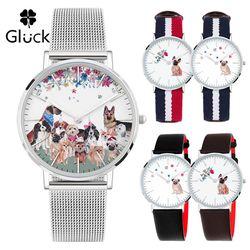 글륵 2018 무술년 황금개띠 Puppy Watch GL4010P