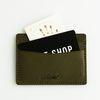 Second file B pocket case Olive
