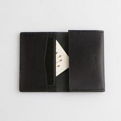 Second file V pocket case Black