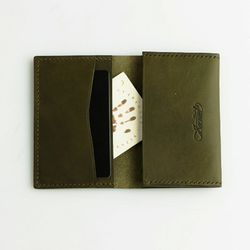Second file V pocket case Olive