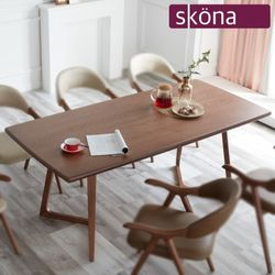 모리아 에쉬 원목 6인 테이블
