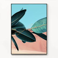 메탈 식물 사막 액자 La dolce vita [대형]