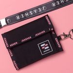 1223 Velcro Wallet (블랙)