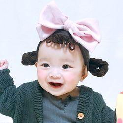 소녀밴드-탈부착아기가발밴드