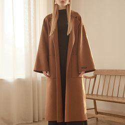 핸드메이드 코트 (브라운)