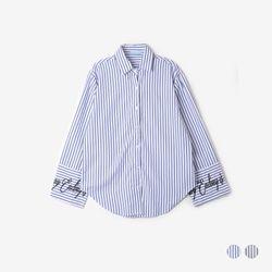 부루앤쥬디 소매자수 셔츠 (2COLOR) B1KA1SH001