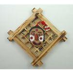 전통탈 나무문살 벽걸이 (3개묶음판매)  전통 명절