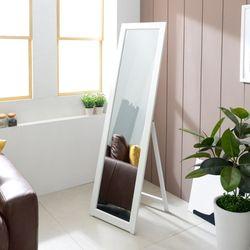 뷰티스 전신거울 사각거치경 440 X 1550 화이트