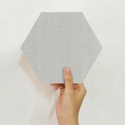육각 데코스티커 스노우 라이트그레이 PS60-1642