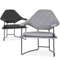 mova lounge chair(모바 라운지 체어)-블랙스틸