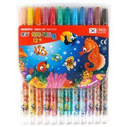 문교12색샤프식색연필