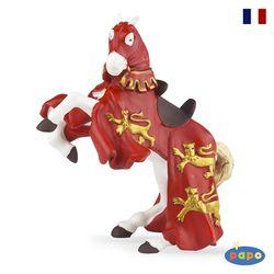 파포 기사 피규어 붉은 옷의 리챠드 왕의 말(39340)