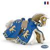 파포 기사 피규어 파란 옷의 리챠드 왕자의 말(39774)