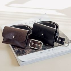 wallet set belt벨트