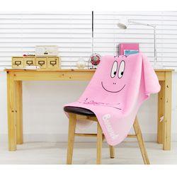 바바파파 핑크하트 극세사 양털담요