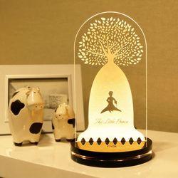 디자인 무드등 (바오밥나무(L-Fill))- 문구삽입 제작