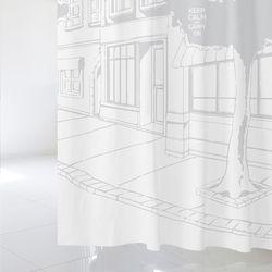 [샤워 커튼]북유럽 스타일 sc704