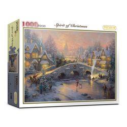 1000피스 즐거운 크리스마스 직소퍼즐 PL1190