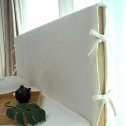 자연염색 침대 헤드커버 12color - 싱글(커버만)