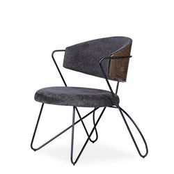 loop lounge chair(루프 라운지 체어)-블랙