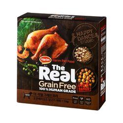 더리얼 그레인프리 오븐베이크드 닭고기 퍼피 1kg