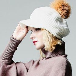 Raccoon Bell Knit Hat
