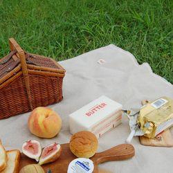BUTTER-linen picnicmat 린넨 피크닉매트