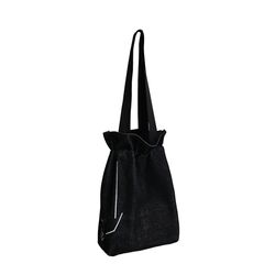 흩날리는 복주머니 shoulder bag black