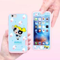 파워퍼프걸 풀커버 강화유리 3TYPE(아이폰6 아이폰6S)