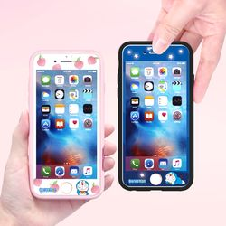 도라에몽 풀커버 강화유리 2TYPE (아이폰6 아이폰6S)