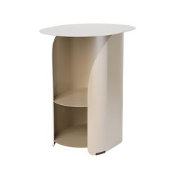 커브 사이드 테이블 샴페인골드