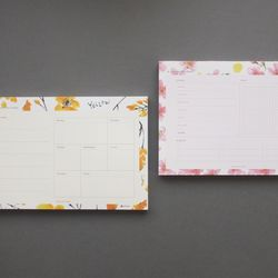 A Planner on a desk Schedule Pad - 유별나라 100매