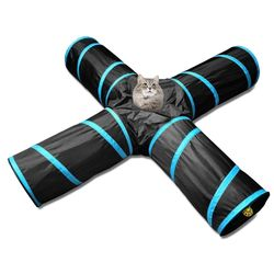 펫디아 고양이 4구 바스락 터널