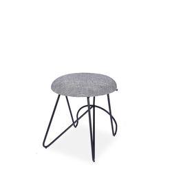 loop low stool(루프 로우 스툴 - A블랙)