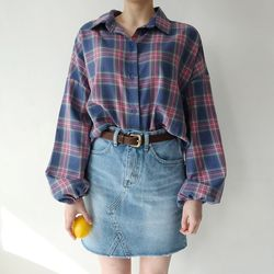 Daily denim cutting skirt