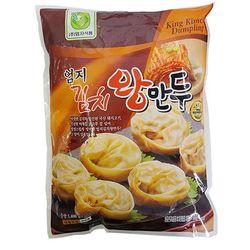 엄지 김치왕만두1.4kg 2개 왕만두 냉동식품 CH1297583