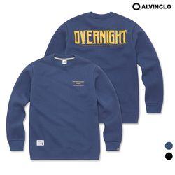 [앨빈클로]MAR-742 Overnight 맨투맨 티셔츠