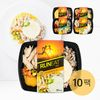 [무료배송] 런잇 닭가슴살&나물밥도시락 4가지맛 10팩