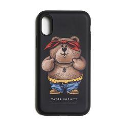 PHONE CASE THUG BEAR BLACK iPHONE 8  8+  X