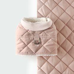 깔깔이 조끼 하네스 [핑크]
