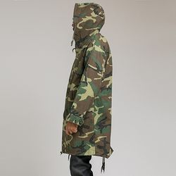 M-51 Fishtail Parka woodland camo