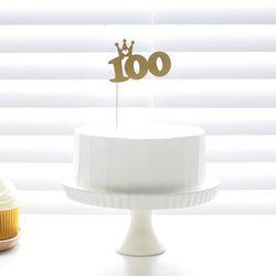 Cake Topper 케익데코픽 100일 2color