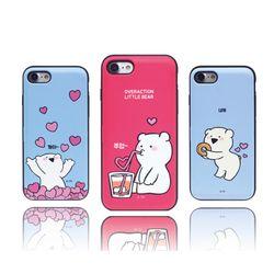 오버액션 곰 멀티 카드 범퍼케이스 LG G5