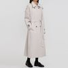over long trench coat