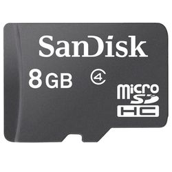 [STEP4인증필수] 샌디스크 MicroSD 카드 8G